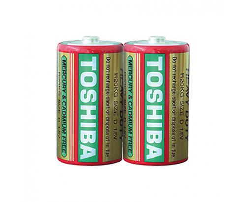 Батерии Тошиба R20K 2бр