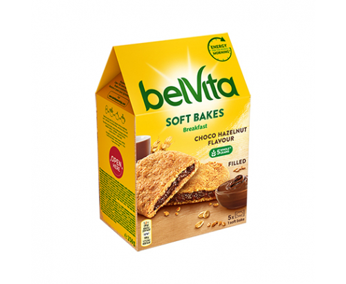 Бисквити Белвита Софт 250г Шоко