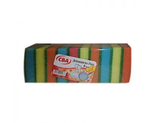 Домакинска гъба CBA 8+2бр Без канал