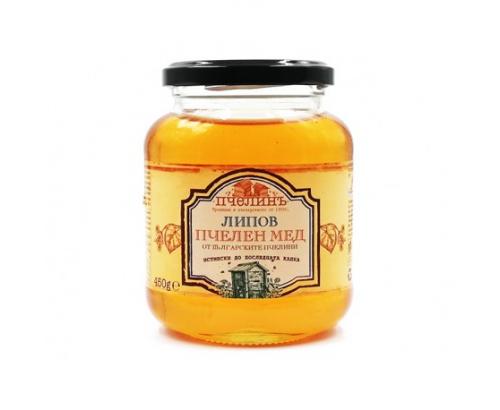 Пчелен мед Пчелинъ 450г Липов