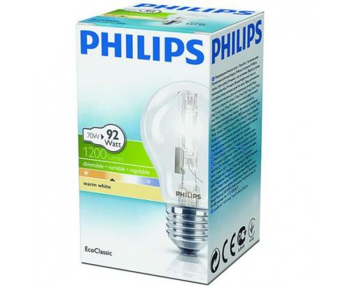 Халогенна крушка Филипс 70W=92W E27