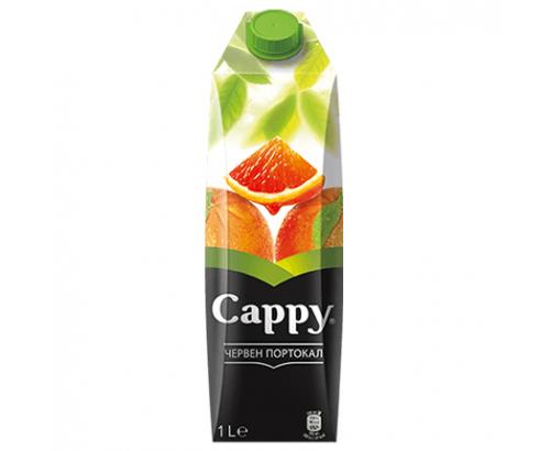 Плодова напитка Капи 1л Червен портокал