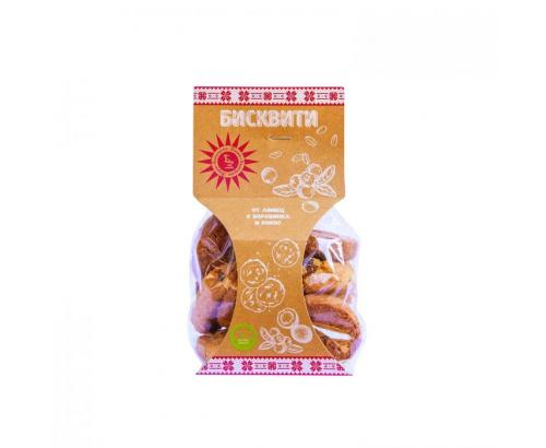 Бисквити Българско зърно 120г Лимец, боровинка, кокос