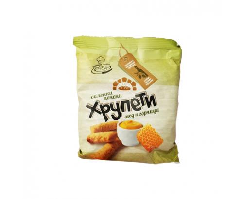 Хрупети Аеа 80г Мед и горчица