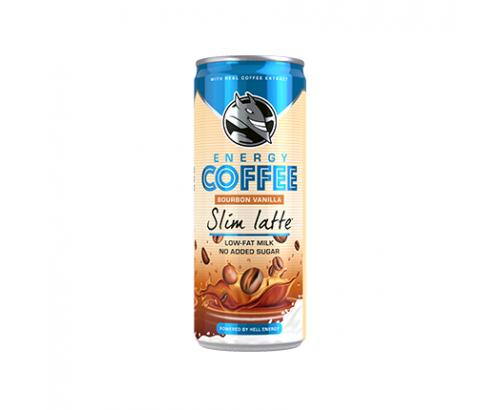 Енергийна напитка Хел Кофи 250мл Слим Лате