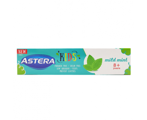 Паста за зъби Астера 50мл 8+ Майлд Минт