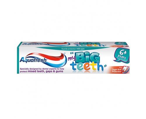 Паста за зъби Аквафреш 50мл Детска 6+