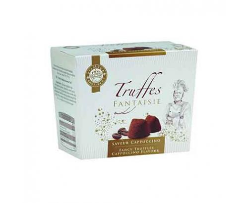 Шоколадови бонбони Трюфел Фенси 150г Капучино