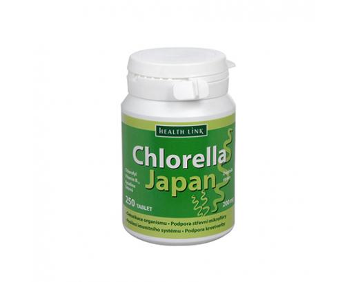 Хлорела Япония 250таблетки