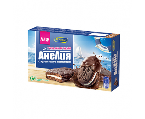 Бисквити Анелия 180г Тунквани