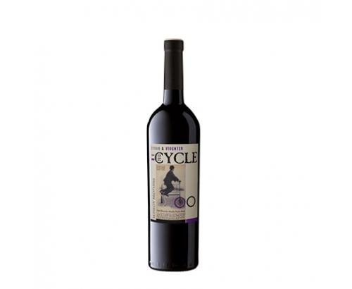 Вино Сайкъл 750мл Сира и Вионие