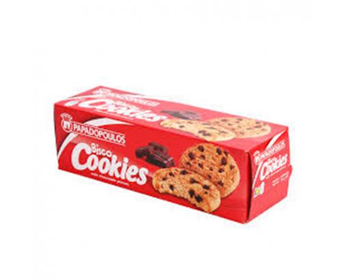 Бисквити Кукис Биско 180г Шоколад