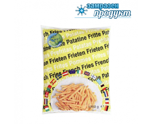 Бланширани картофи Интернационал 1кг