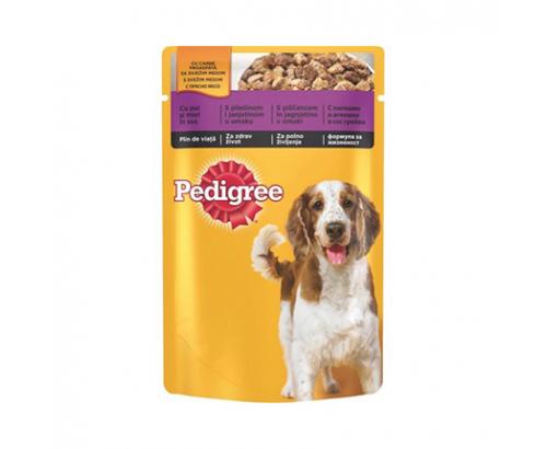 Храна за кучета Педигри 100г Пауч Пилешко и агнешко месо