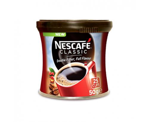 Разтворимо кафе Нескафе Класик 50г