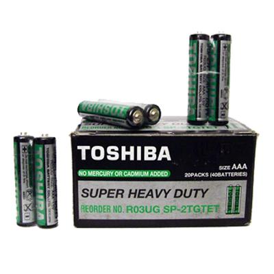 Батерии Тошиба 2бр R03UG