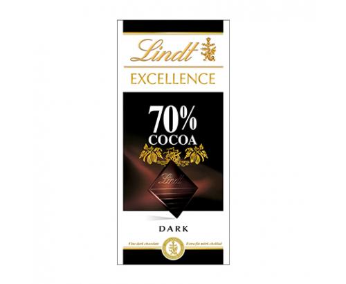 Шоколад Линдт Ексълънс 100г 70% какао
