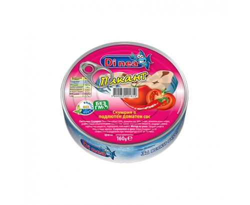 Скумрия Ди Неа 160г Подлютен доматен сос