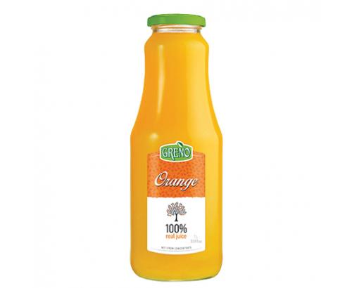 Натурален сок Грено 1л Портокал