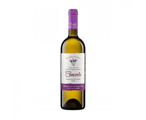 Вино Кончерто 750мл Шардоне