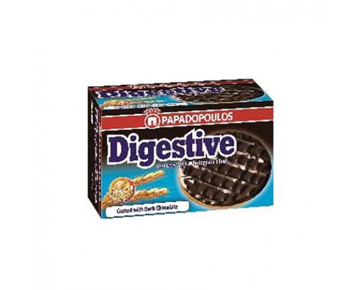 Бисквити Дайджестив 200г Черен шоколад