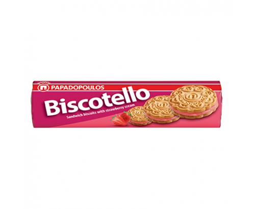Бисквити Бискотело 200г Ягода