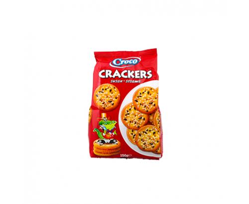 Крекери Кроко 150г Сусам