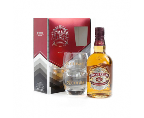 Уиски Чивас Регал 700мл + 2 чаши