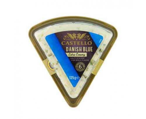 Синьо сирене Кастело 60% 100г