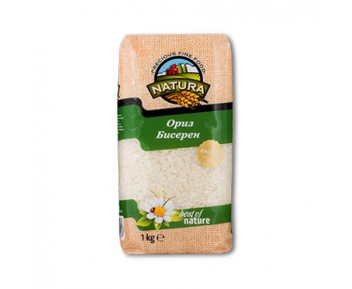Ориз Натура 1кг Бисерен
