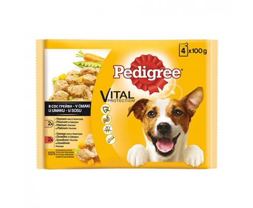 Храна за кучета Педигри 4х100г Пауч