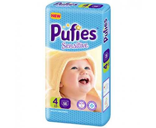 Бебешки пелени Пуфис 56бр Макси