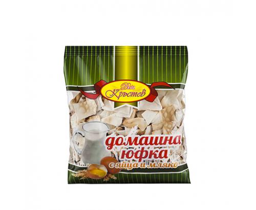 Домашна юфка Кръстев 200г Яйца и мляко