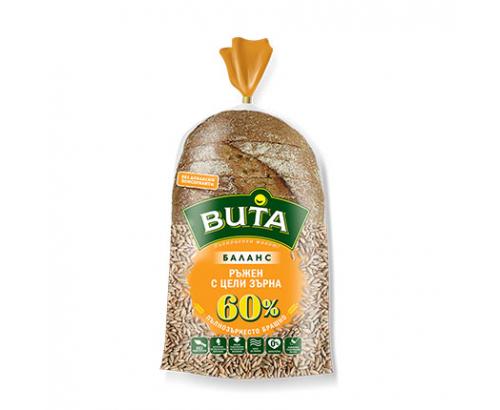 Хляб Вита Баланс 450г Ръжен с цели зърна
