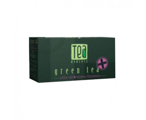 Чай Тий Моментс 30г Зелен с лотос и портокал