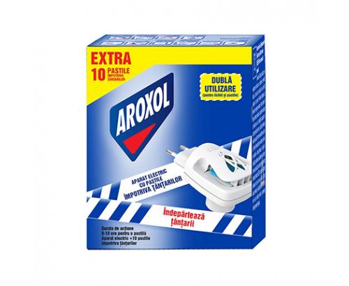 Електрически изпарител + таблетки Ароксол 10бр Против насекоми
