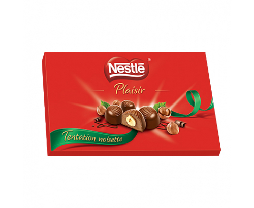 Шоколадови бонбони Нестле 125г Лешник