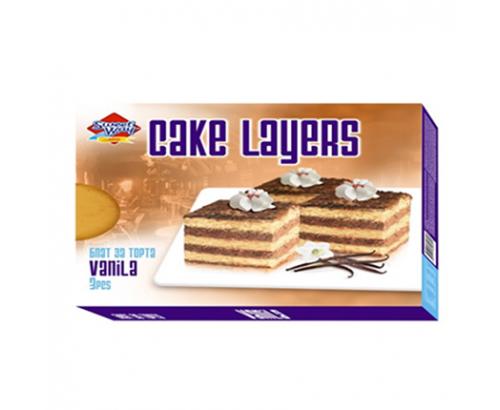 Блат за торта Сладък път 400г Ванилия