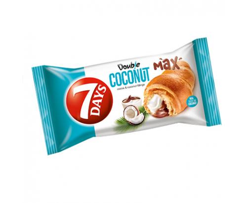 Кроасан 7 Дейс Дабъл 80г Какао и кокос