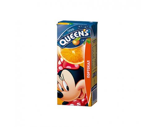 Нектар Куинс 200мл Портокал