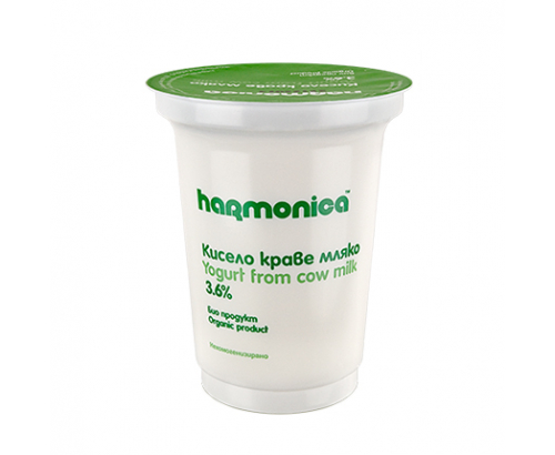 Био кисело мляко Хармоника 3,6% 400г