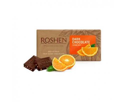 Шоколад Рошен 90г Дарк 56% с портокал