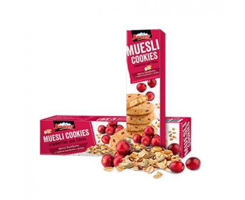 Бисквити Мюсли Боровец 110г червена боровинка и фибри