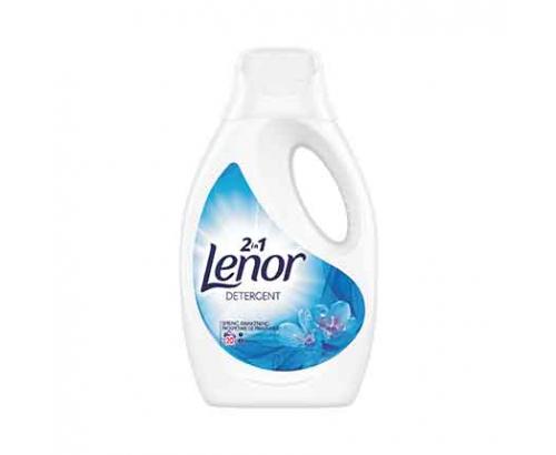 Гел за пране Ленор 1,1л Планинска пролет