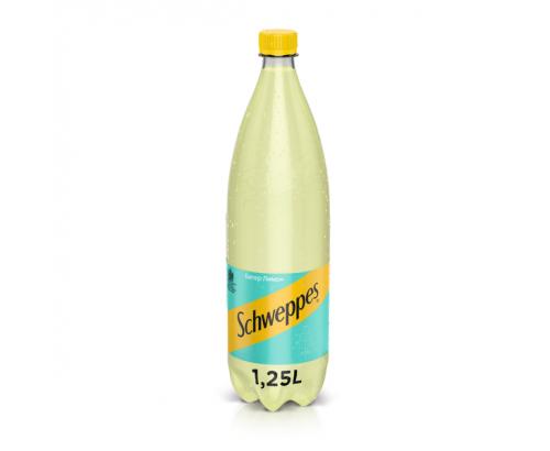 Газирана напитка Швепс 1,25л Битер Лимон