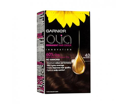 Боя за коса Гарние Олиа 4.0 Тъмно кафява
