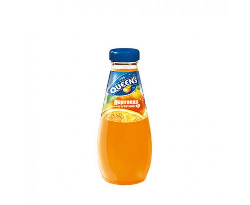 Сок Куинс 250мл Портокал