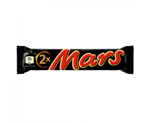 Шоколадов десерт Марс 2 Пак 70г