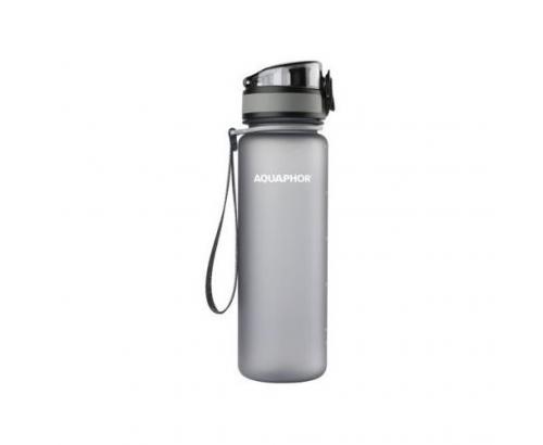 Бутилка за филтрирана вода  Аквафор 500мл Сива