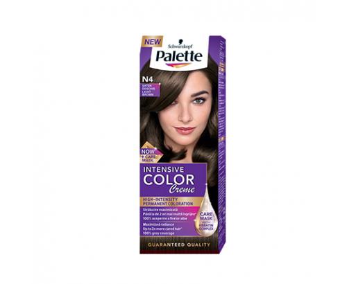 Боя за коса Палете Интензив Калър Крийм N4 Светло кафяв